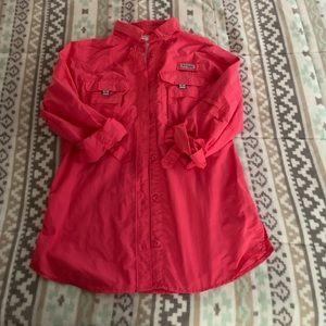 Columbia fishing shirt XS